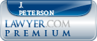 J. Scott Peterson  Lawyer Badge