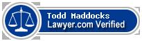 Todd D. Maddocks  Lawyer Badge
