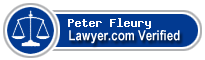 Peter Fleury  Lawyer Badge