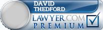 David W. Thedford  Lawyer Badge