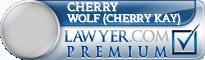 Cherry Kay Wolf (Cherry Kay)  Lawyer Badge