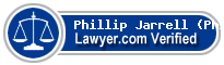 Phillip W. Jarrell (Phil)  Lawyer Badge
