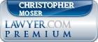 Christopher J. Moser  Lawyer Badge