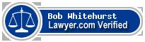 Bob Whitehurst  Lawyer Badge