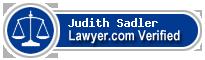 Judith Batson Sadler  Lawyer Badge