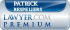 Patrick J. Respeliers  Lawyer Badge