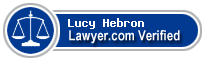 Lucy Magness Hebron  Lawyer Badge