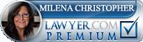 Milena Christopher  Lawyer Badge