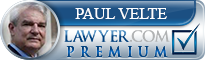 Paul C. Velte  Lawyer Badge