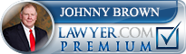 Johnny R. Brown  Lawyer Badge