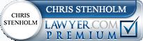 Chris W. Stenholm  Lawyer Badge