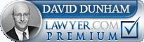 David Erwin Dunham  Lawyer Badge