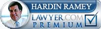 Hardin R. Ramey  Lawyer Badge