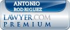 Antonio Rodriguez  Lawyer Badge