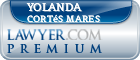 Yolanda Cortés Mares  Lawyer Badge