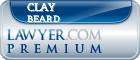 Clay Beard  Lawyer Badge