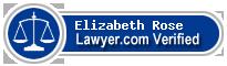 Elizabeth C. Rose  Lawyer Badge