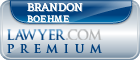 Brandon L. Boehme  Lawyer Badge
