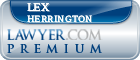 Lex Herrington  Lawyer Badge