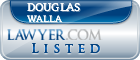 Douglas Walla Lawyer Badge