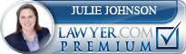 Julie E. Johnson  Lawyer Badge
