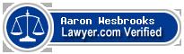 Aaron Mark Wesbrooks  Lawyer Badge