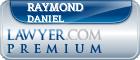 Raymond Ellis Daniel  Lawyer Badge