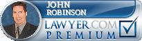 John Walter Robinson  Lawyer Badge