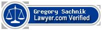 Gregory J. Sachnik  Lawyer Badge