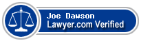 Joe Morgan Dawson  Lawyer Badge