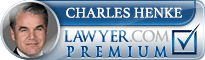 Charlie Henke  Lawyer Badge