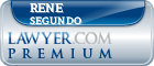 Rene Segundo  Lawyer Badge