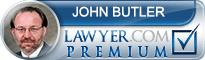 John Stillman Butler  Lawyer Badge