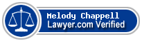 Melody G. Chappell  Lawyer Badge