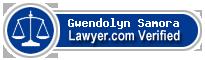 Gwendolyn Johnson Samora  Lawyer Badge