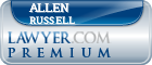 Allen David Russell  Lawyer Badge