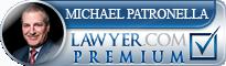 Michael Blase Patronella  Lawyer Badge