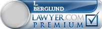 L. James Berglund  Lawyer Badge