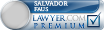 Salvador Edward Faus  Lawyer Badge