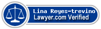 Lina L. Reyes-trevino  Lawyer Badge