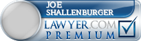 Joe Henry . Shallenburger  Lawyer Badge