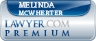 Melinda Mcwherter  Lawyer Badge