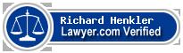 Richard Allen Henkler  Lawyer Badge
