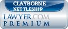 Clayborne Lee Nettleship  Lawyer Badge