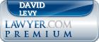 David Adrian Levy  Lawyer Badge
