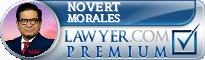 Novert Morales  Lawyer Badge
