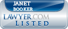 Janet Booker Lawyer Badge
