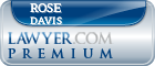 Rose Mary Sheppard Davis  Lawyer Badge