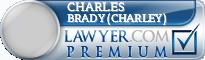 Charles Madden Brady (Charley)  Lawyer Badge