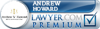 Andrew Vincent Howard  Lawyer Badge